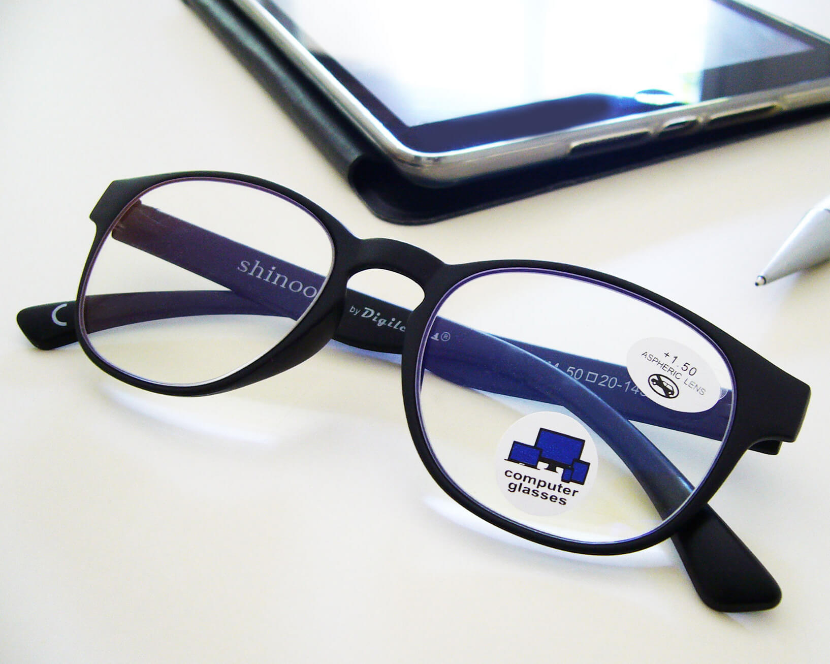 blue light shinoox glasses for computer