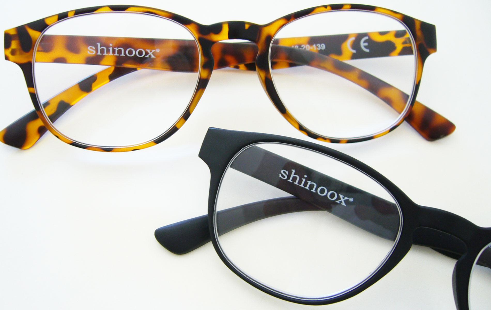 occhiali shinoox lettura turtle e black