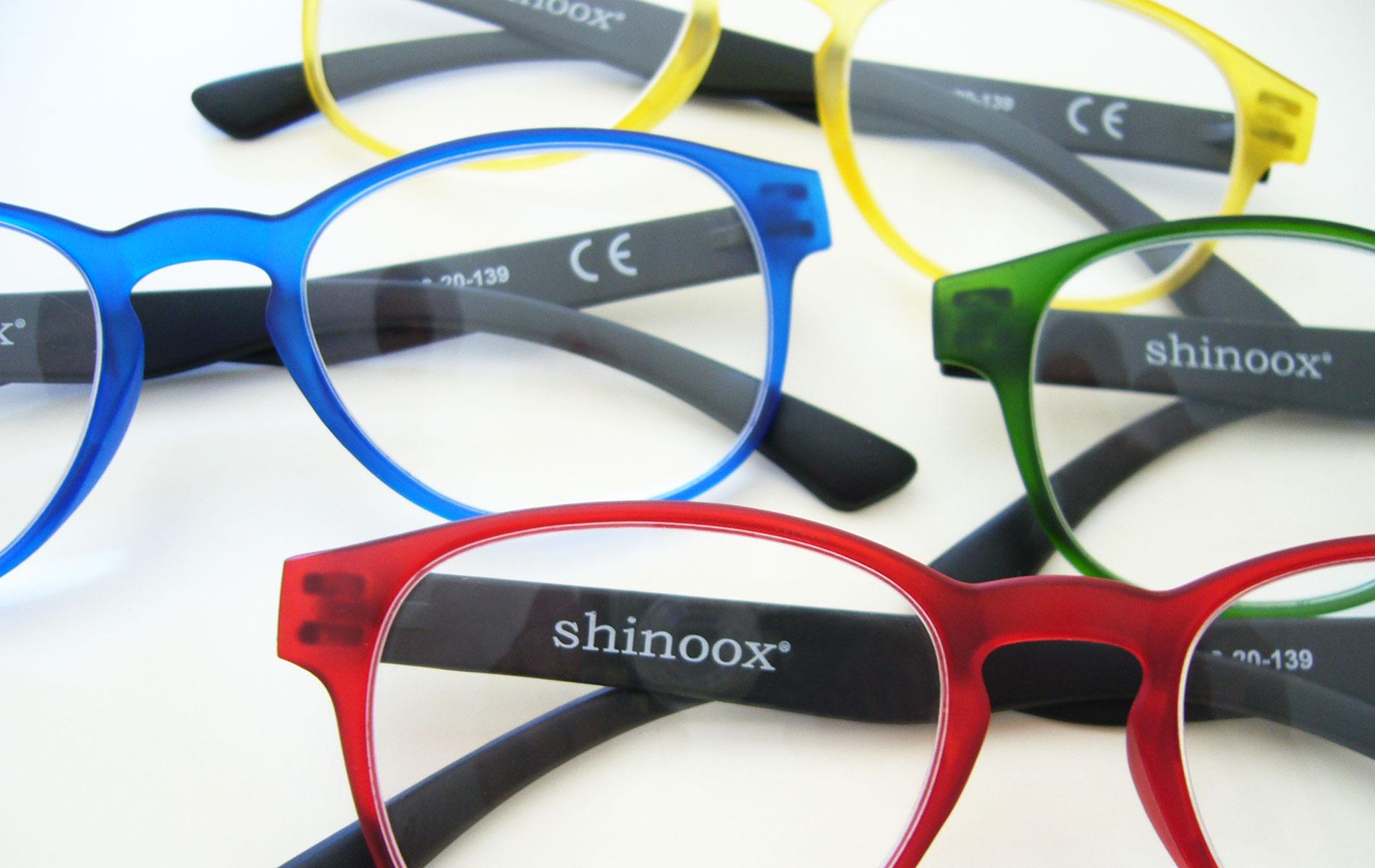 occhiali shinoox da lettura colorati